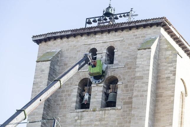 Como barrio con reloj nuevo   Noticias Diario de Burgos