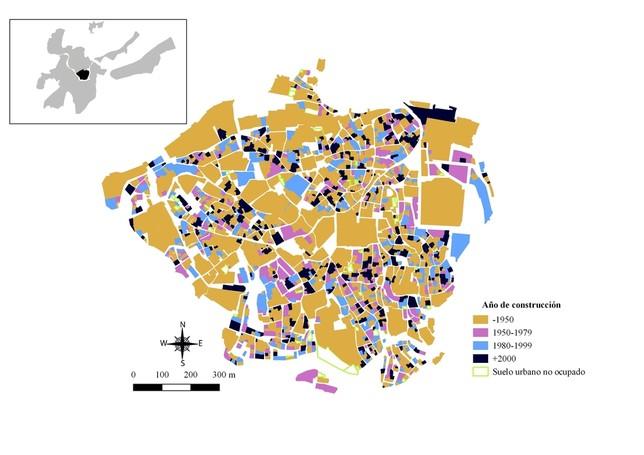 El 75% de los edificios de Toledo son posteriores a 1980