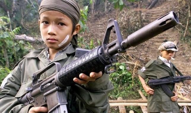 El reto de salvar a niños soldado