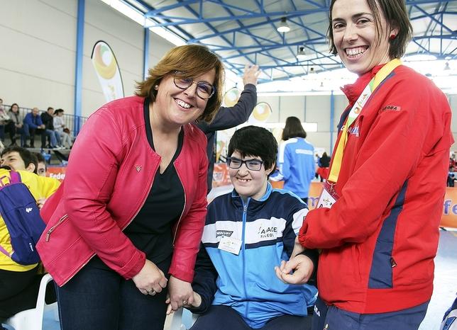 Campo de Criptana con los discapacitados