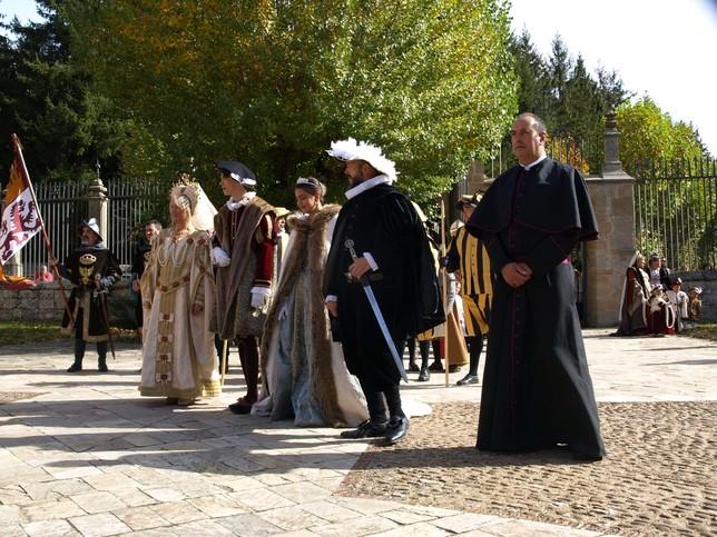 Aguilar conmemorará este fin de semana la visita de Carlos I