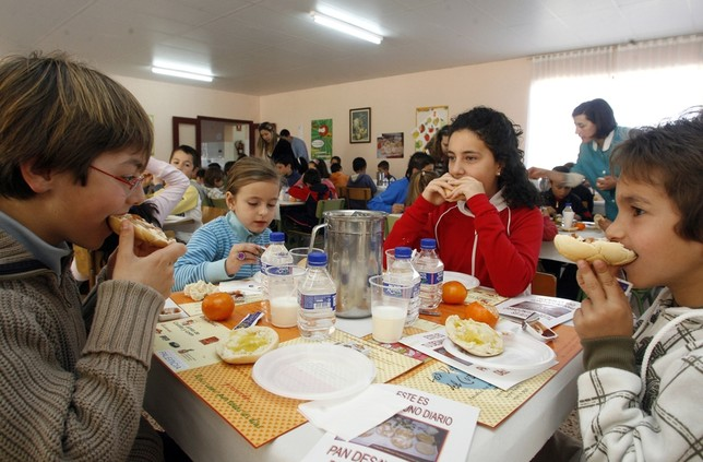Conceden 26.740 ayudas para el comedor escolar este curso ...