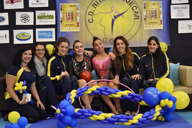 Cerca de 270 gimnastas participan en la Copa Base CD Huécar