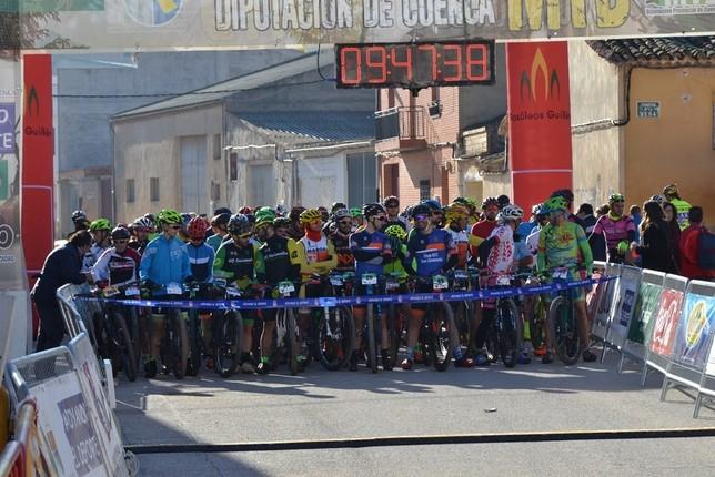 El circuito MTB de la Diputación concluyó en Ledaña