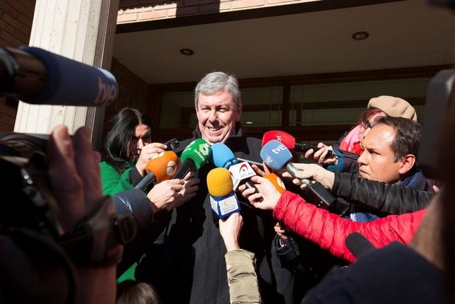 Rafael Uriarte es uno de los letrados de los exjugadores de la Arandina investigados.  Paco Santamaría (EFE)