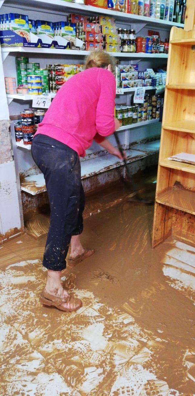 La lluvia pone en jaque la comarca del Jalón