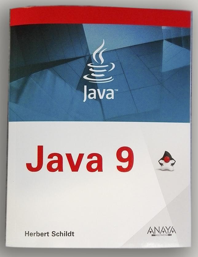 Portada del libro de Java editado por Anaya