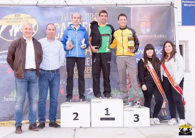 Ordoño y Algarra ganan la carrera popular de Minglanilla David Rodriguez C.