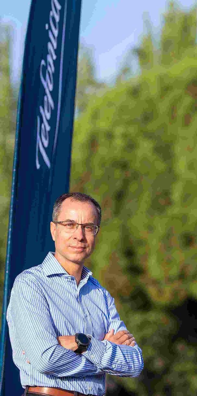 Javier Gutiérrez, director de Estrategia y Desarrollo de Red de Telefónica. Manu Reino