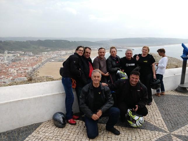De Guardo a Portugal en moto