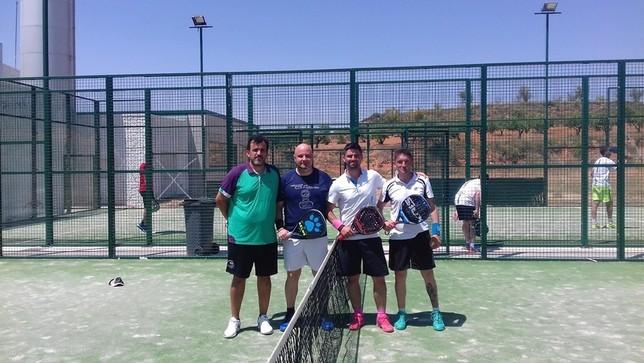 La pareja Correa y Cortijo gana el primer torneo de pádel