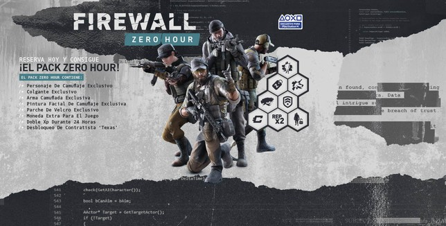 Pack de Firewall Zero Hour