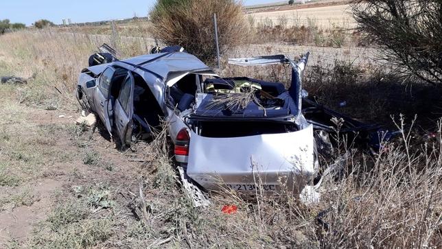 Cuatro heridos en un accidente de tráfico en Villardefrades @BomberosDip_VLL