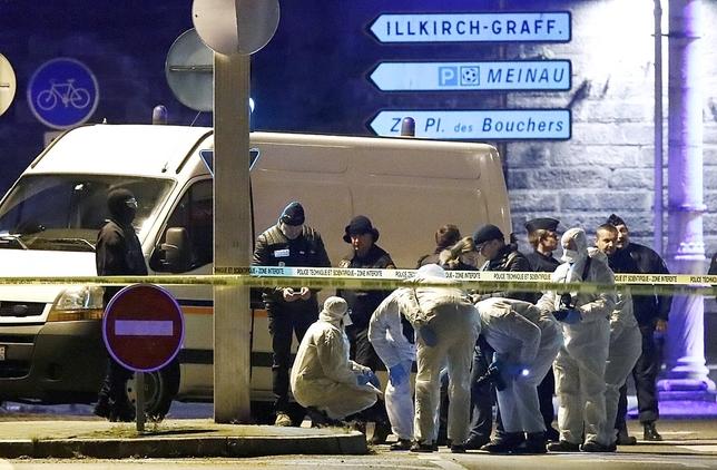 La Policía abate al terrorista de Estrasburgo CHRISTIAN HARTMANN