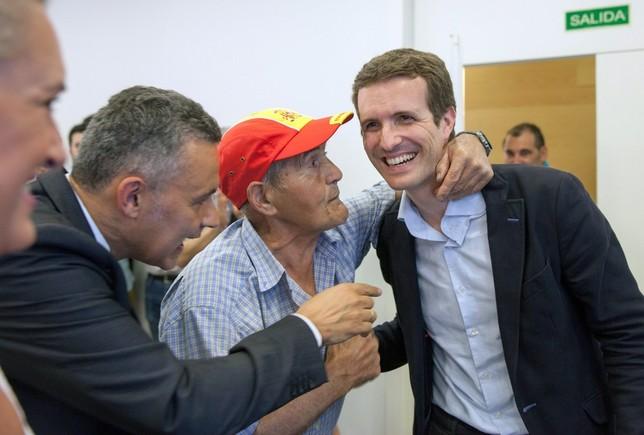 Santamaría insiste en la lista unitaria y Casado no cede RAQUEL MANZANARES