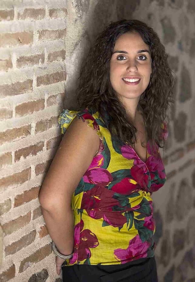 Inés Sandoval, concejala de Empleo e Igualdad y viceportavoz municipal David Pérez