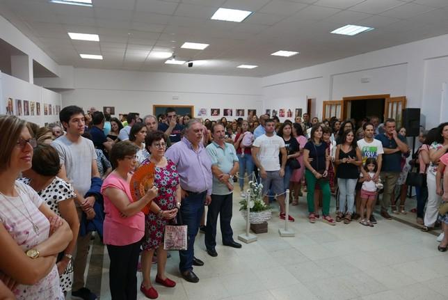 Inauguracón de 'Cien edades' del artista yebenoso Juan Sánchez Borox
