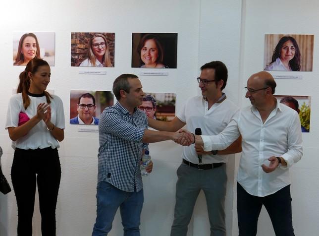 Inauguracón de 'Cien edades' del artista yebenoso Juan Sánchez Borox La Tribuna