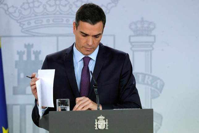 Sánchez insiste en agotar la legislatura Juan Carlos Hidalgo