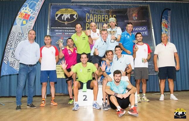 Sanz y Algarra ganan la carrera popular de Villares del Saz