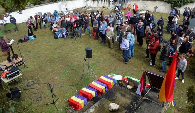 Acto celebrado en Valdenoceda el pasado 14 de abril