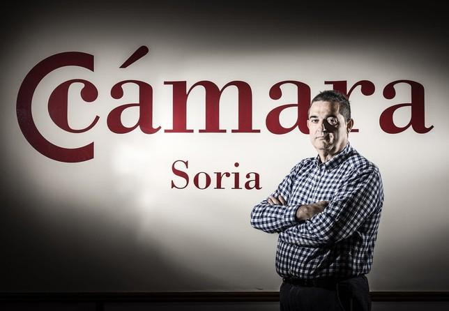 Alberto Santamaría, presidente de la Cámara de Comercio de Soria