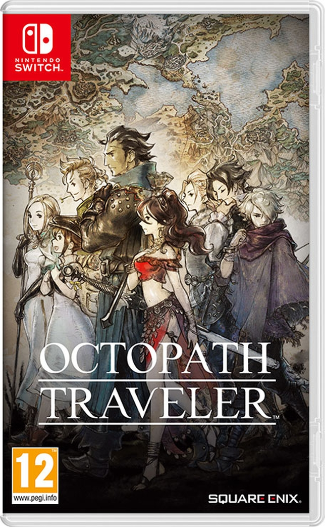 Carátula de OCTOPATH TRAVELER