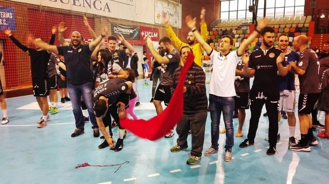 El BM Ciudad Encantada doblega al Huesca y jugará en Europa
