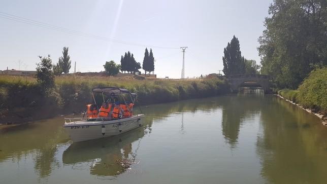 Embarcaciones de recreo entre Villaumbrales - Becerril