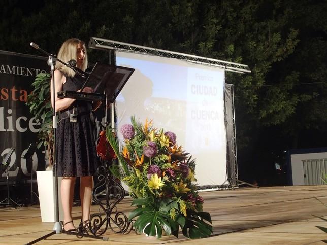El pregón de Almudena Serrano da inicio a las fiestas