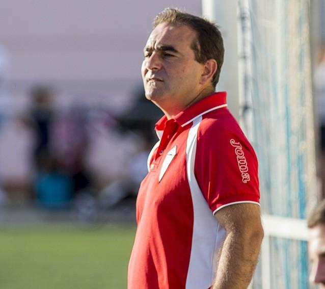 Javier Bermúdez, entrenador del Almagro, en una imagen de archivo. Pablo Lorente