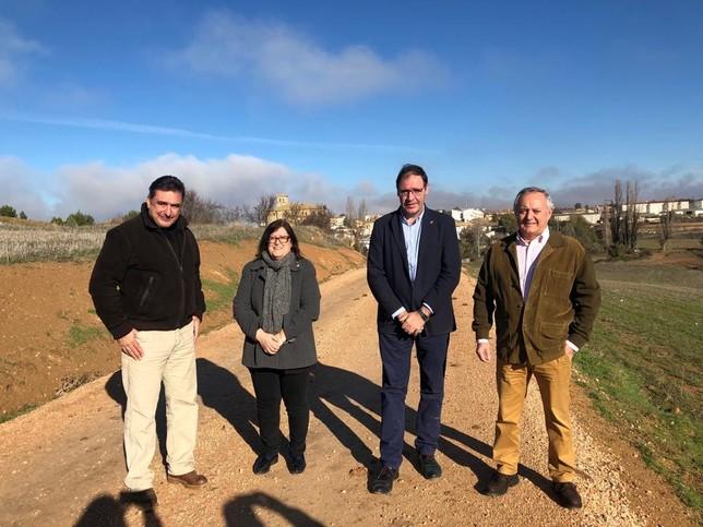 Diputación y Junta invierten 120.000 euros en siete caminos