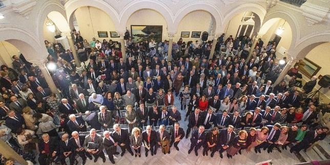 Reconocimiento al papel de las diputaciones y la Carta Magna Tomás Fernández de Moya