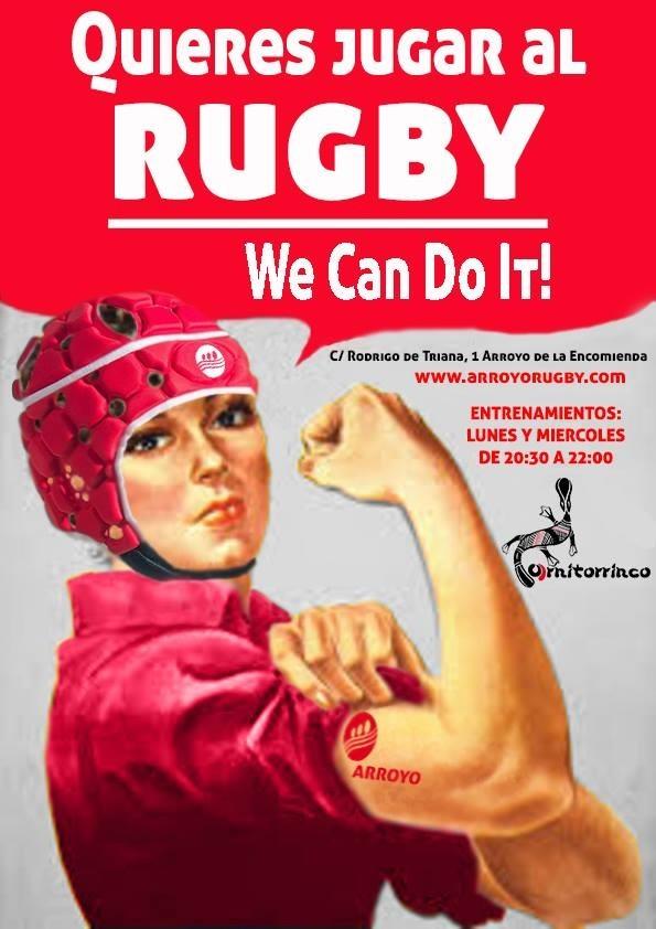 Rugby Arroyo busca sumar jugadoras a su proyecto