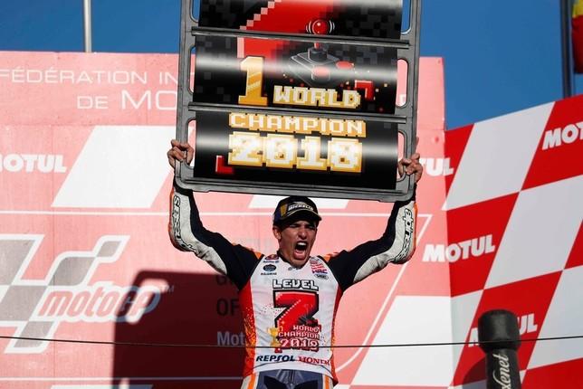 Márquez, campeón del mundo