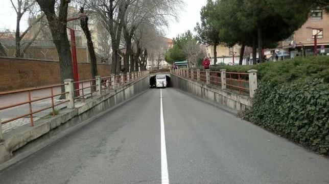 Túnel de Las Delicias.