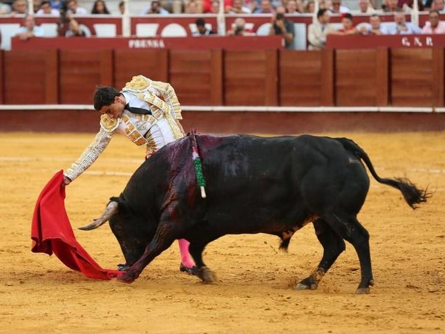 Garrido puntúa en Málaga