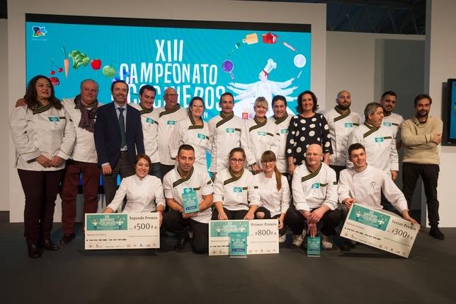 La vallisoletana Sheila García gana el regional de cocina