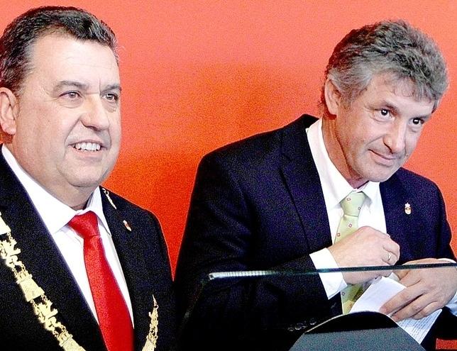 José Manuel Barrio y Sarbelio Fernández. D.V.
