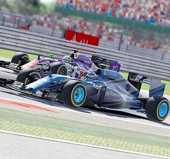 Valladolid se asoma a la F1 virtual