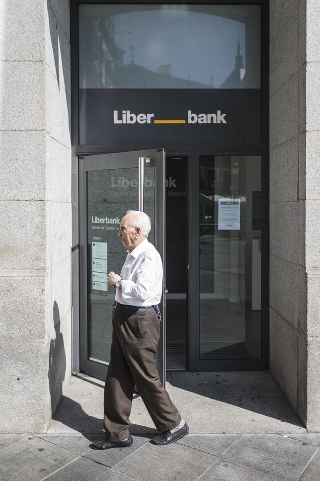 Una de las sede de Liberbank en la ciudad de Toledo. Víctor Ballesteros