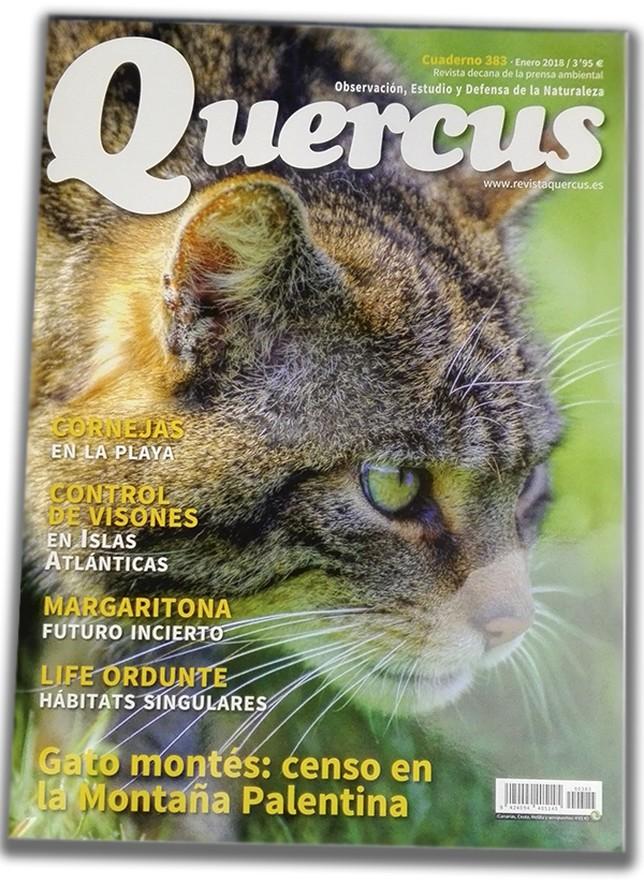 portada de la revista Quercus