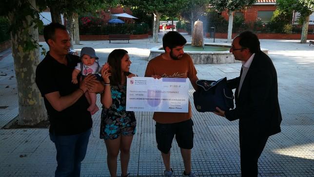 1.000 euros bajo el brazo