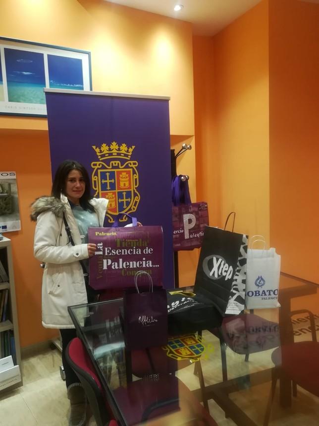 Nieves Ortega, primer premio del Showpping Day