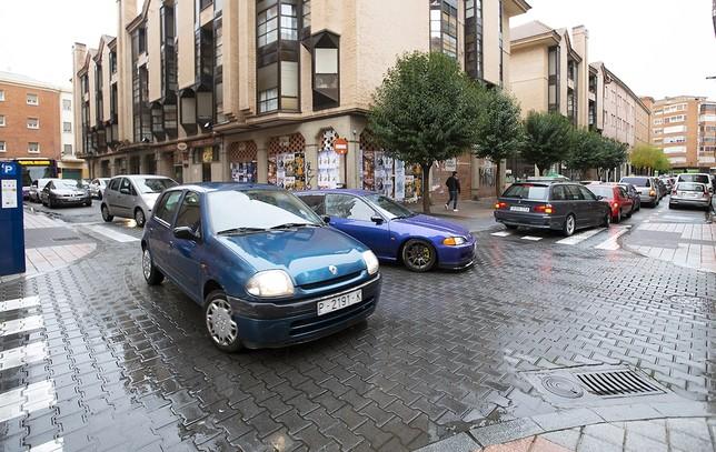 Las obras y la lluvia colapsan el tráfico del centro 1 hora Eva Garrido