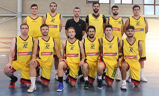 Plantilla del Basket Cervantes para esta temporada.  FBCLM