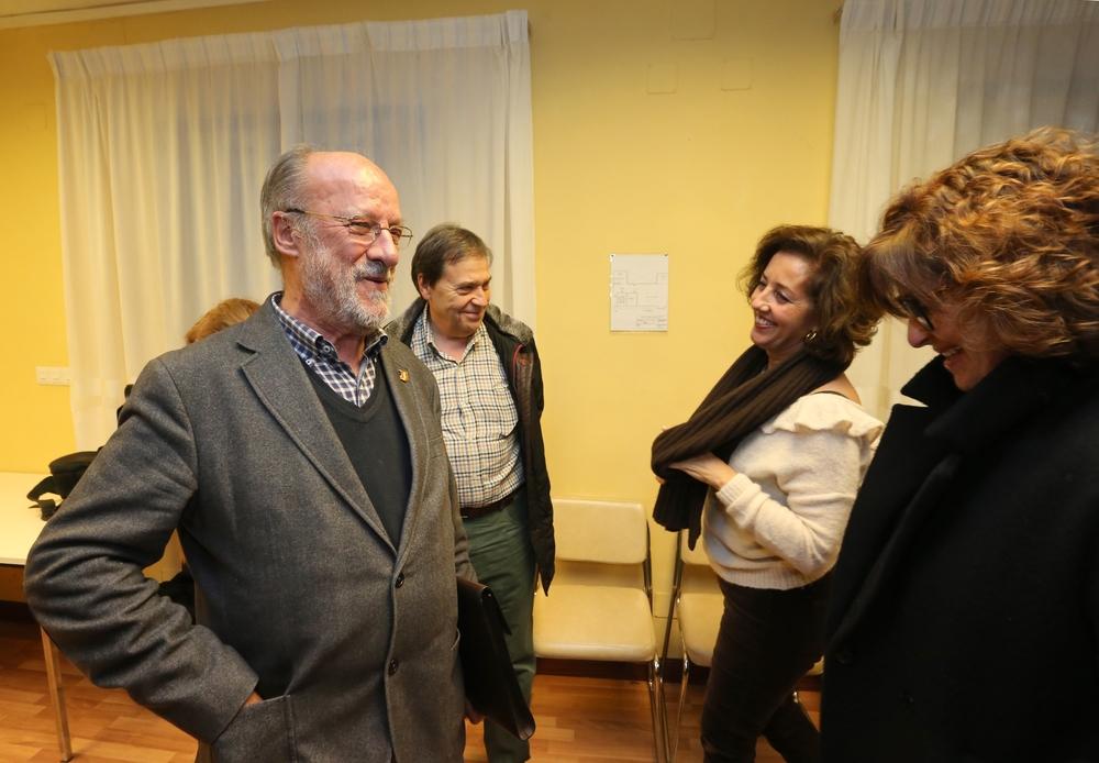 Rueda de prensa del exalcalde de Valladolid Javier León de la Riva