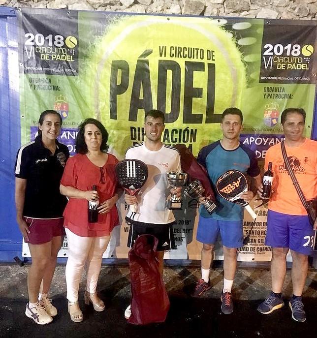 Diecisiete parejas disputaron el torneo de Pádel de Horcajo
