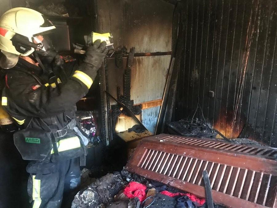 Incendio en la cuarta planta de una vivienda en Tafalla ...