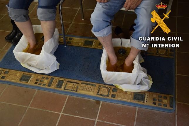 Realizaban prácticas médicas ilegales en la Ribera navarra